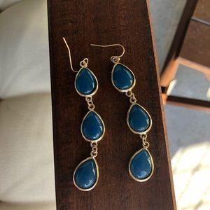 Jewelry - Blue drop earrings